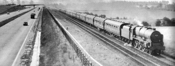 WCML and M1 in June 1960