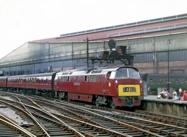 D1041 Western Prince at Paddington