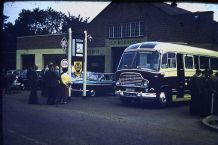 Check out those Farina's and the Bedford SB Duple coach in this early 60's image.