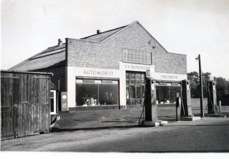 S.V Robinson premises before expansion circa 1940.