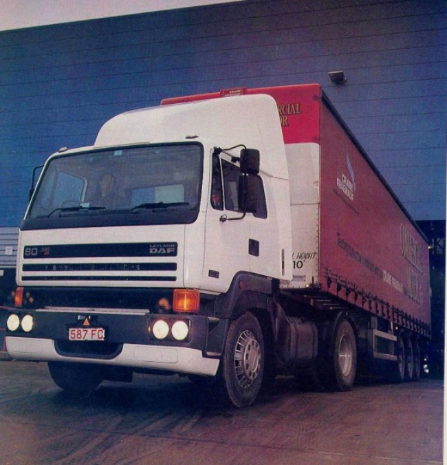 The swansong of the T45 was the Leyland DAF 80 series- deleted in 1993.