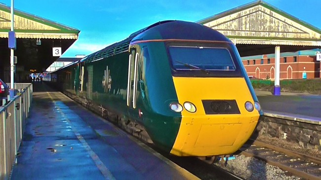 The legendary High Speed Train in the all new GWR livery. Its 40 years since its introduction in full passenger service first seen on the Great Western Mainline.