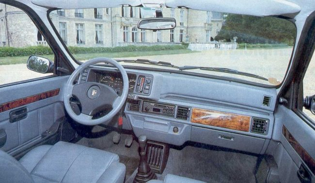 This European Metro GS shows how Rover excelled at the art of the silk purse. Despite the origins echoing the 1984 Austin revamp it was very well screwed together.