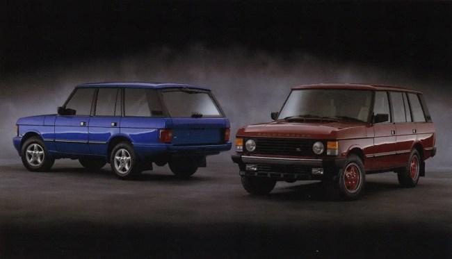 1993 Land Rover brochure - Range Rover Autobiographys