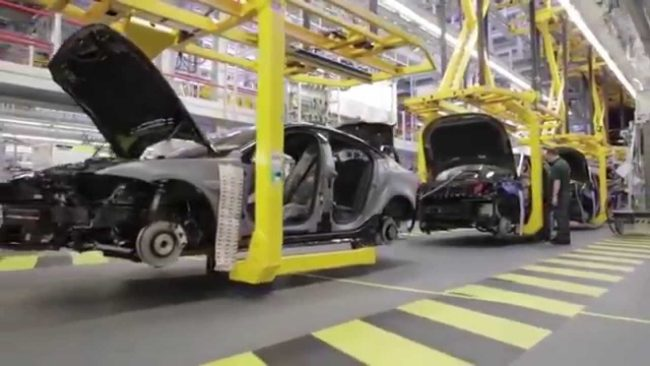 jaguar-xe-production