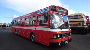 By the time the Leyland National 2 arrived in 1979, it had developed into a fine machine. This Rhonda Valley Series 2 was a tidy example