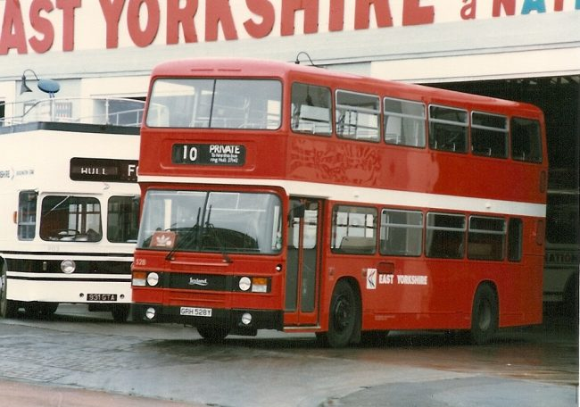 The Leyland Olympian with ECW bodywork. My steed for that day was very similar to this East Yorkshire variant.