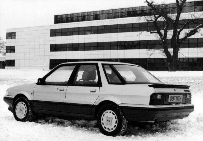 One of Graham Day's yuppie chasing models, this one being the 1987 Montego 2.0Si.