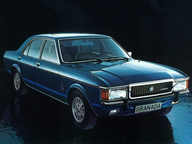 ford granada 1972 1985 the rise and rise of an establishment motor