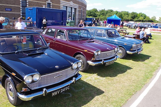 The Large Area In Front Of The Museumu0027s Main Building Was Nicely Filled  With Over 400 Cars From The Various Makes Once United Within British Leyland .