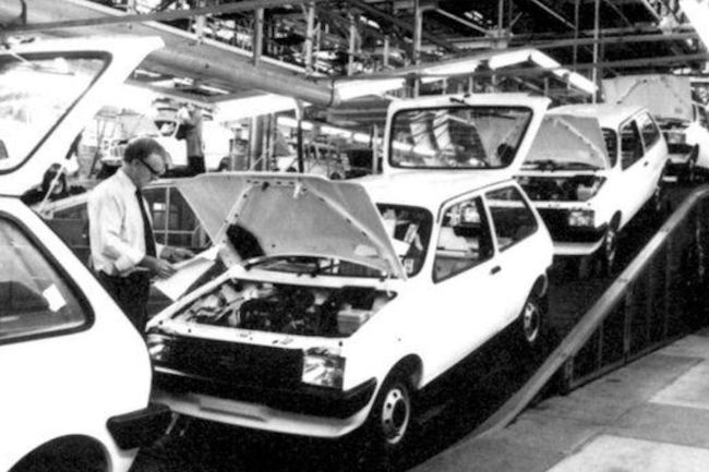 BMC/BL/Rover timeline - 1952-2005 - Austin Metro production, Longbridge 1980