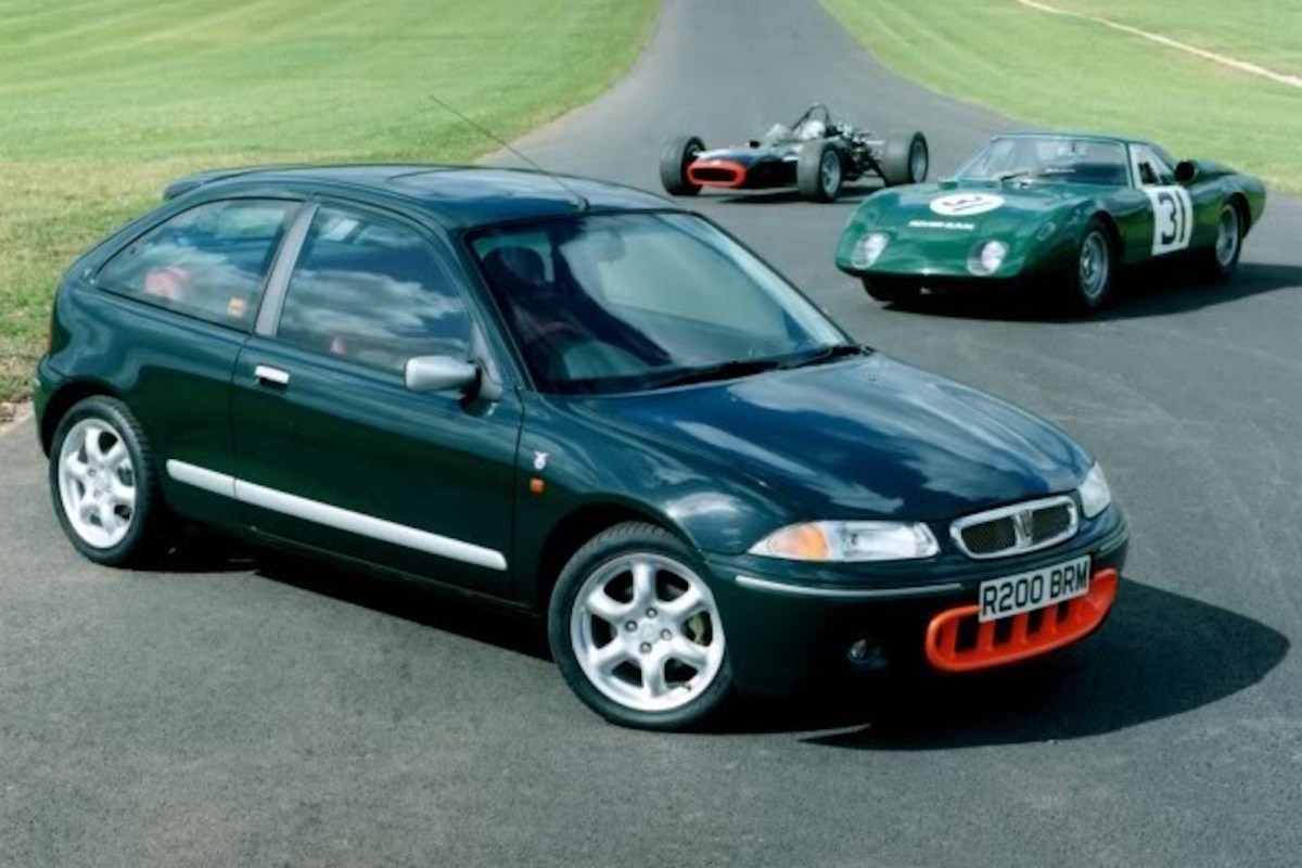 The cars : Rover 200 BRM LE development story