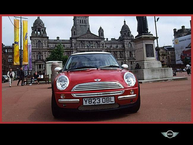 MINI UK dealer tour, May 2001