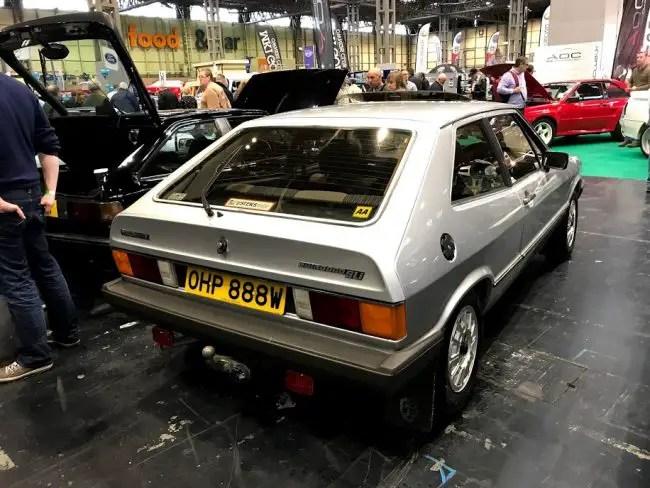 Super-rare Volkswagen Scirocco Mk1 in original GLi form