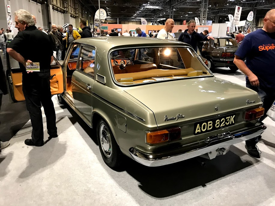 News : Vanden Plas 1800 prototype stars at NEC show