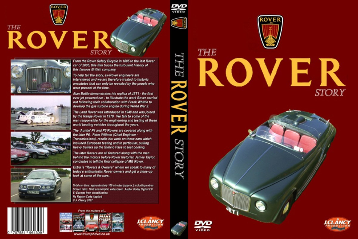 News : Review – The Rover Story DVD by John Clancy