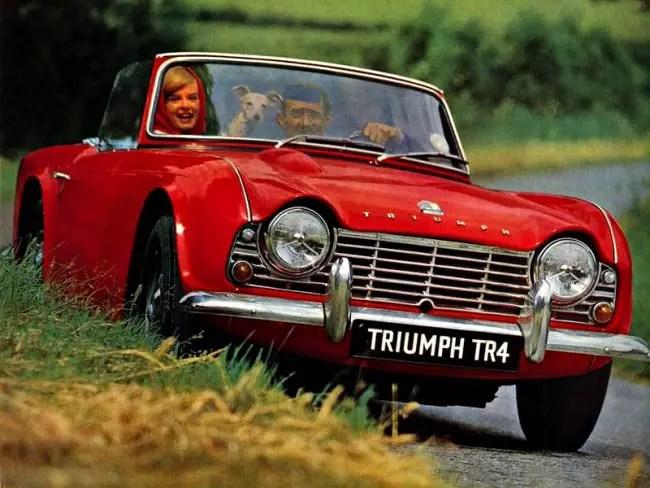 Rover-Triumph story 1961 – Triumph TR4
