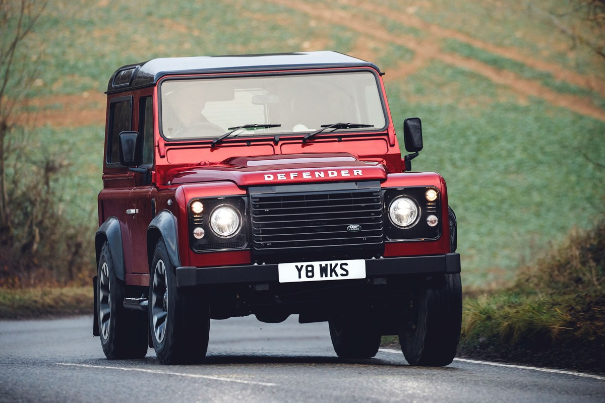 News : Land Rover Defender 70th Edition breaks cover