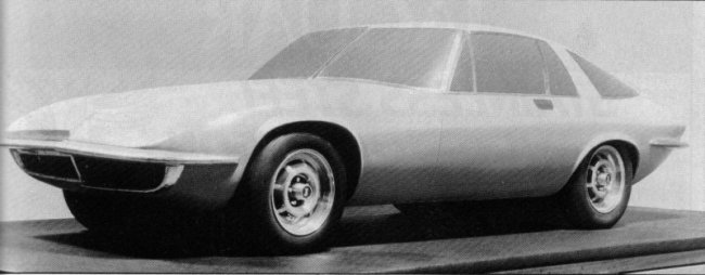The final XJ21 proposal - this would have sold alongside the XJ-S, giving the company a pair of two-seaters in its range...
