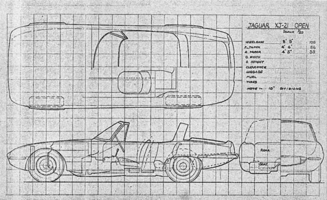 XJ21 in its final - open - form...