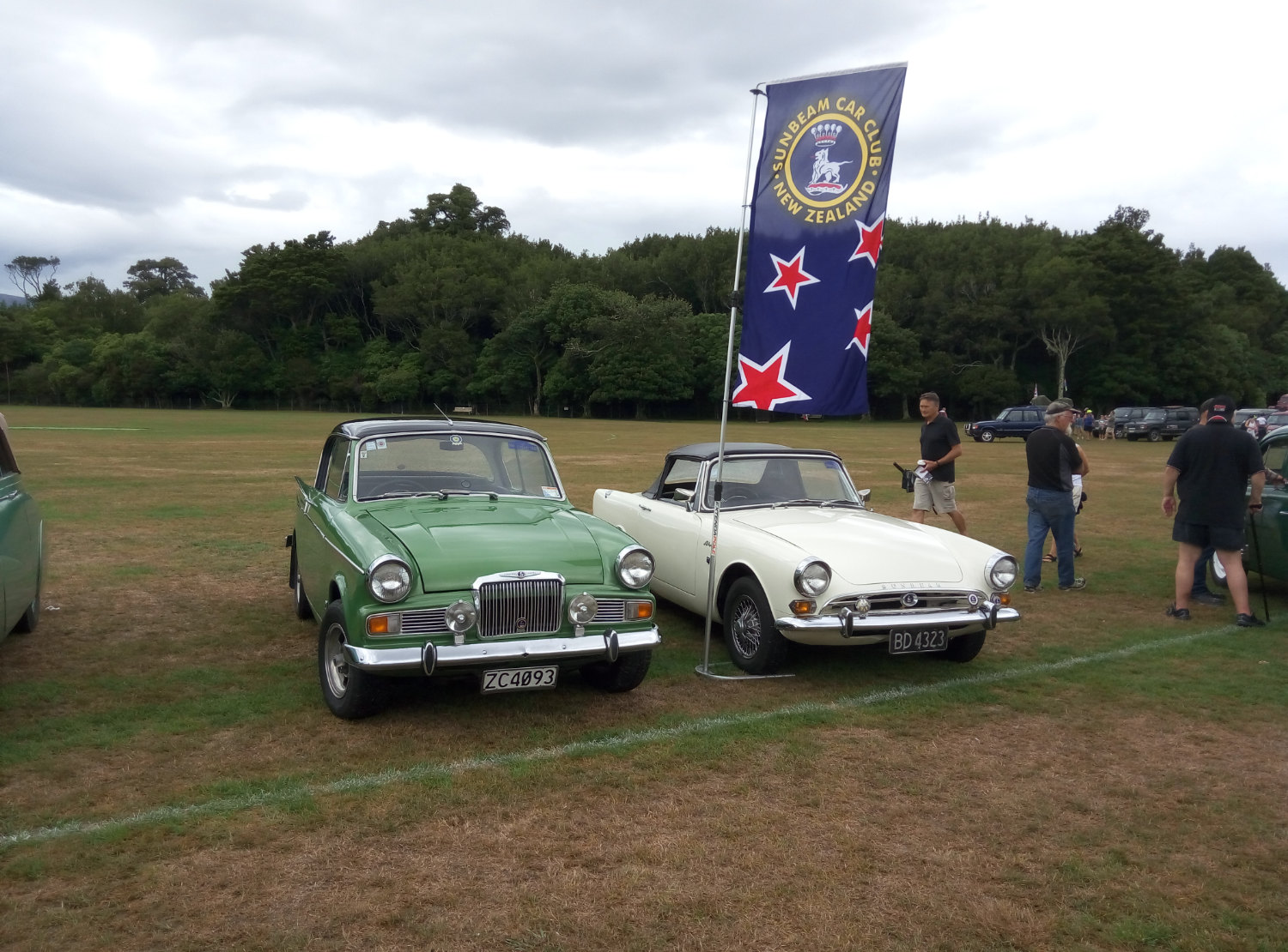 Sunbeam Rapier and Alpine
