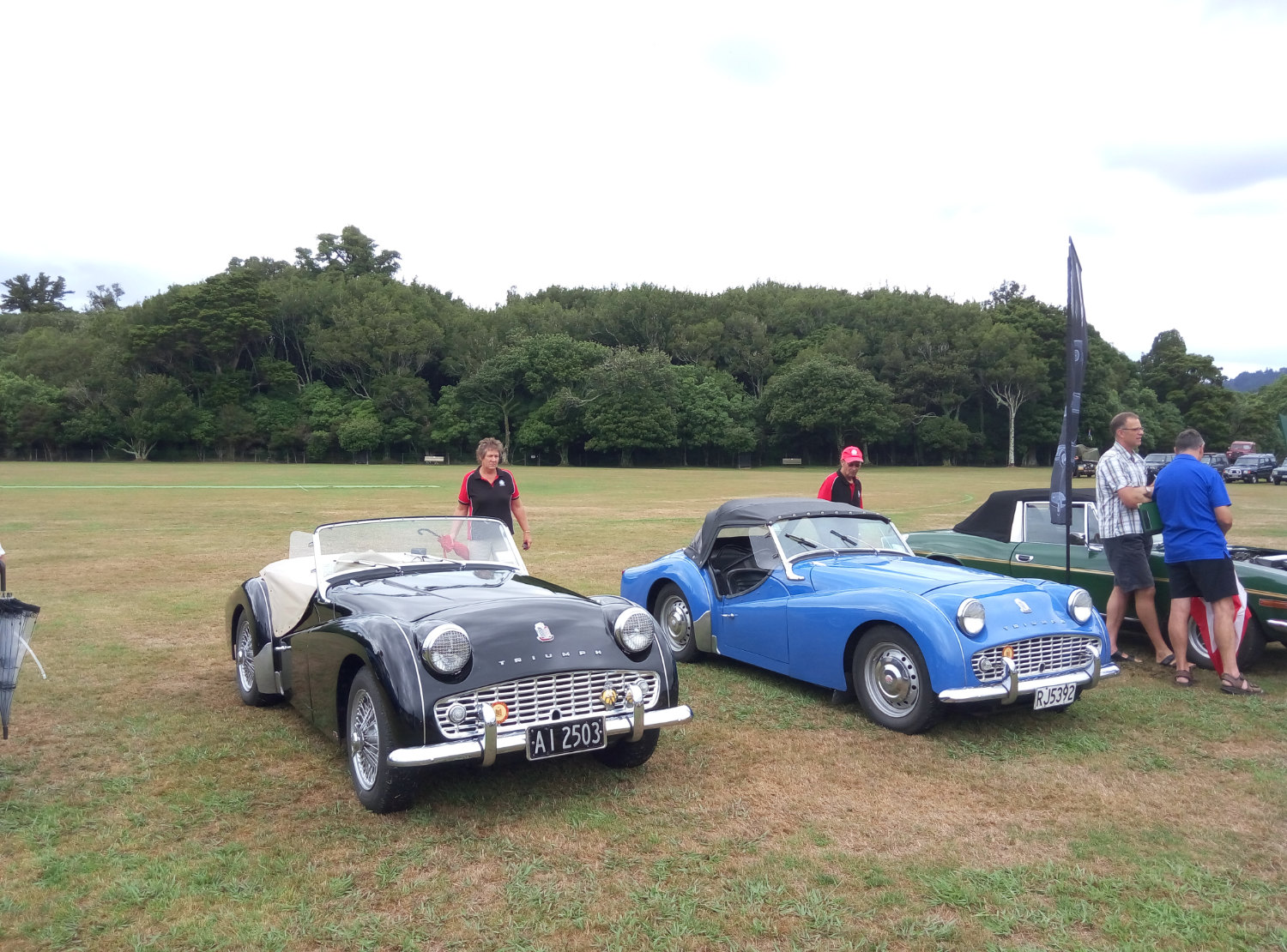 Triumph TR3 and TR3A