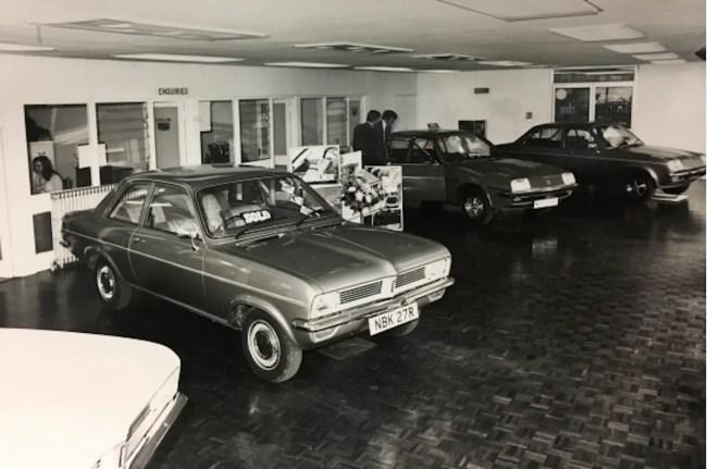 1970s Vauxhall dealer