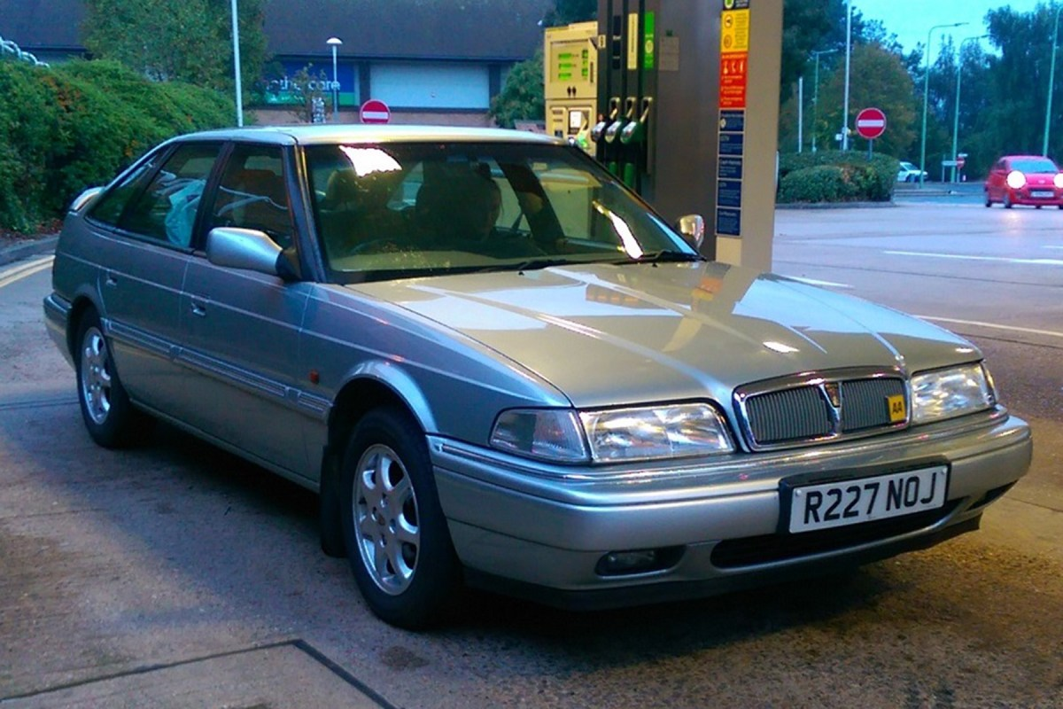 Your Cars : Chris Haining's Rover 825 Si