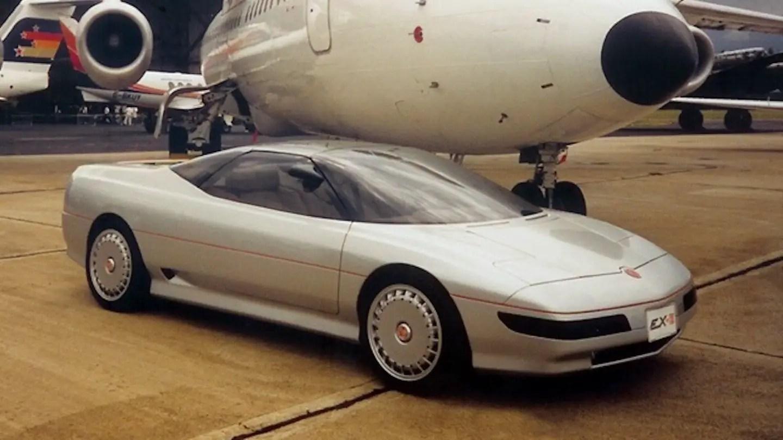 MG EX-E concept car original 1985 UK Marketing Factory dépliant promotionnel-MGF