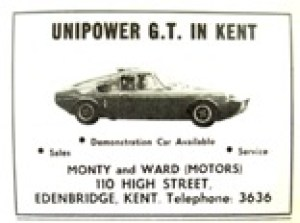 Monty and Ward seem to still in business at www.montysmotorcycles.com/ but unfortunately not selling Unipower GT's anymore!