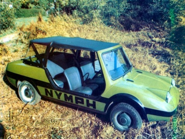 Bohanna and Stables Hillman Imp based Nymph car.