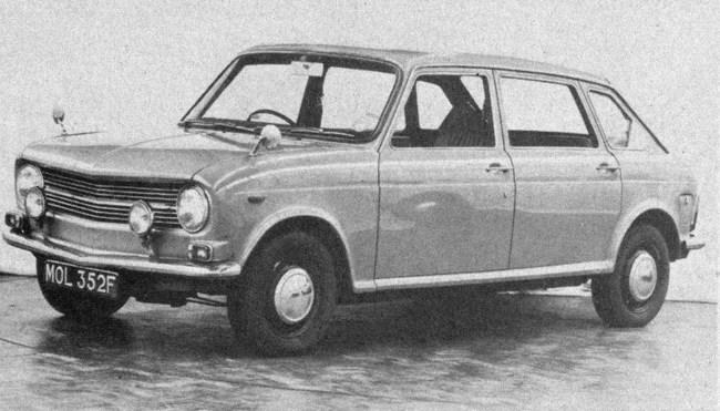 Full-engineered Austin Maxi ADO14 prototype from 1966