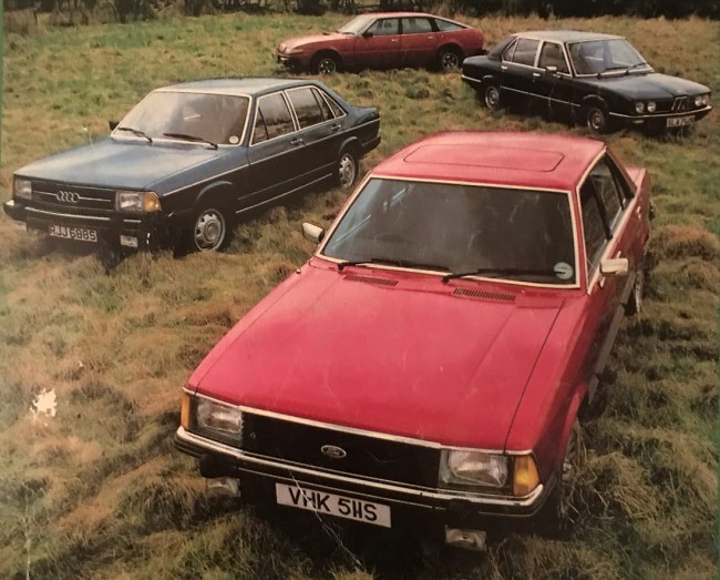 Rover SD1 vs rivals