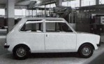 Michelotti's proposal for the Innocenti 750 was neat and tidy looking.