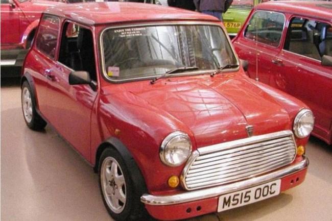 Minki 2 prototype on display in Gaydon