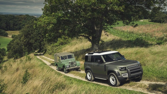 Land Rover Defender 2020 and Series I Land Rover