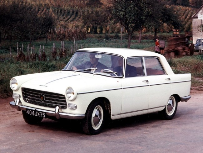 How it should be done: the zero-quarterlight, badge-engineering-free Peugeot 404
