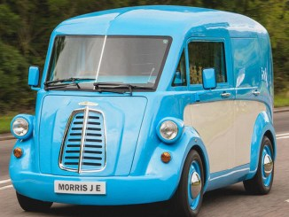 Morris JE electric van