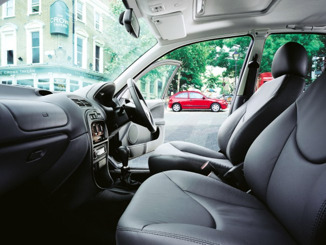 Rover 25 interior wasn't hugely different to the 200's