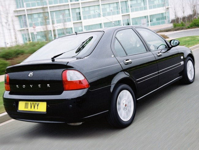 Rover 45: not a commercial or critical success