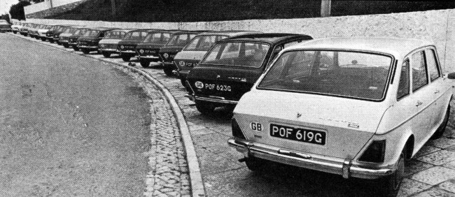 Austin Maxi launch in Estoril