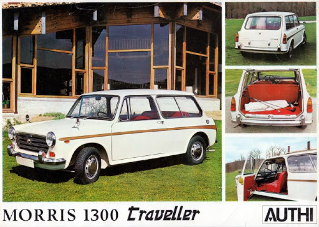 In February 1969 Authi in Spain began producing the ADO16 Morris 1300 Traveller.