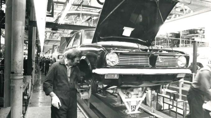 Morris Marina production