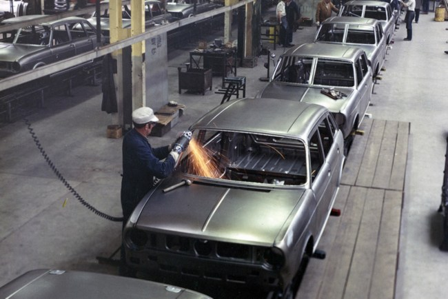 Austin Maxi production