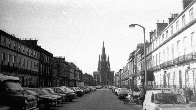 Melville Street, Edinburgh, 1978