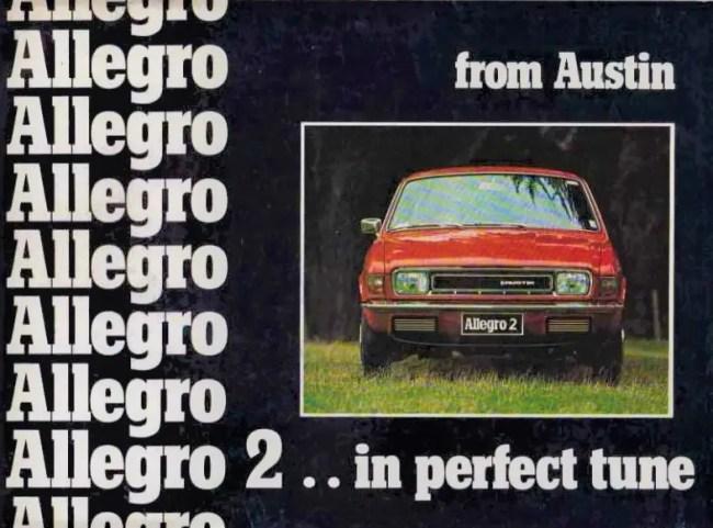 Austin Allegro 2 - New Zealand brochure 1976.