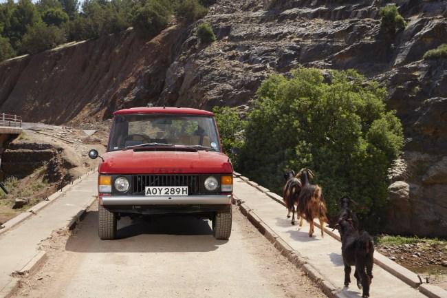 1969 Range Rover prototype