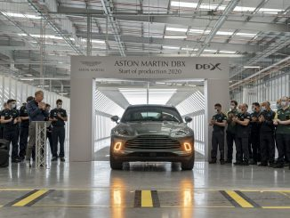 Aston Martin DBX assembly in Wales