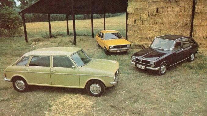 Austin Maxi vs Renault 16 vs Volkswagen Passat