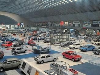 Turin motor show, April 1978